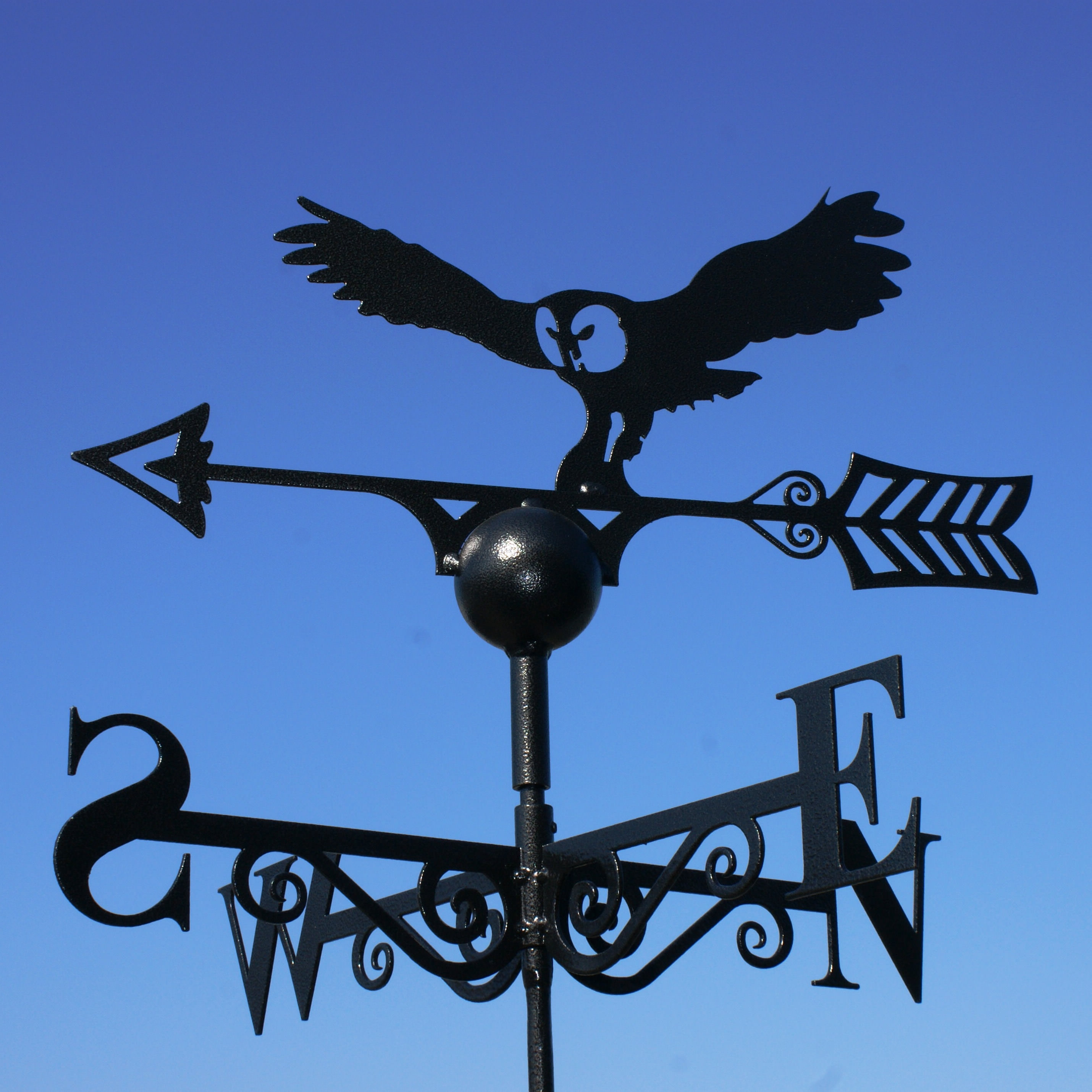 Poppy Forge Owl Weathervane Owl Weather Vane