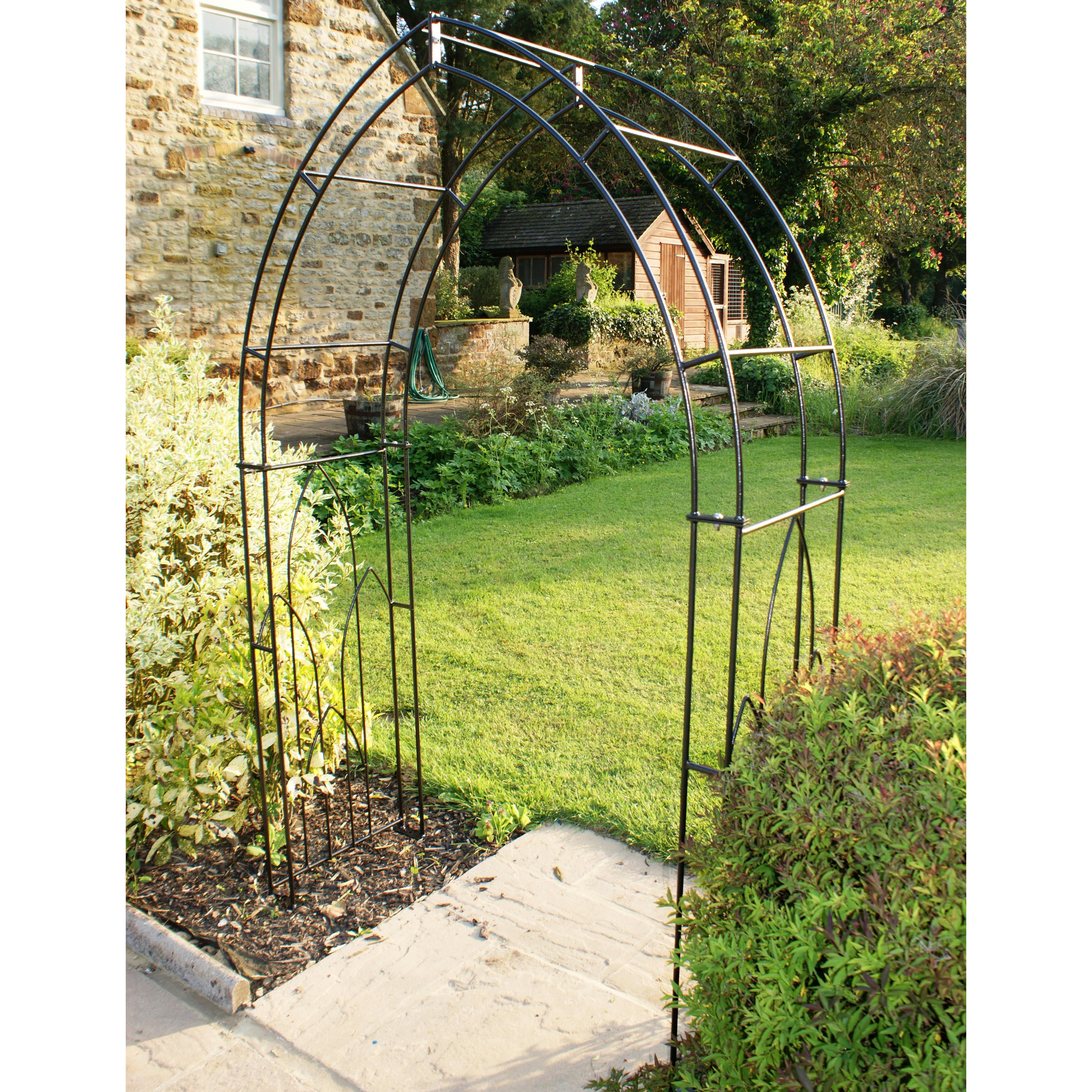 Poppy Forge Gothic Arch Garden Arch