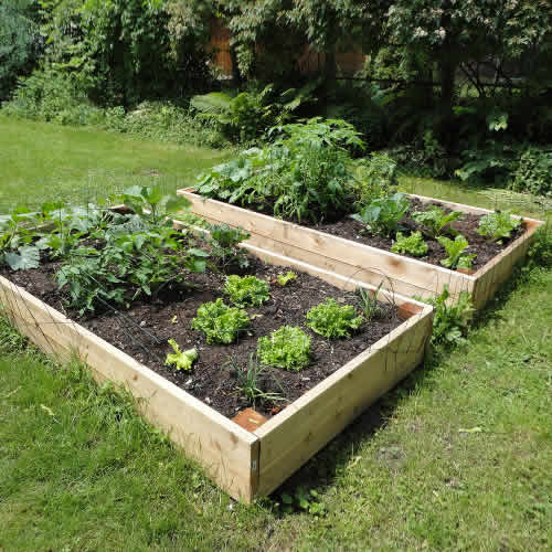 Tanalised Raised Bed - 4ft (1.2m) x 4ft (1.2m)